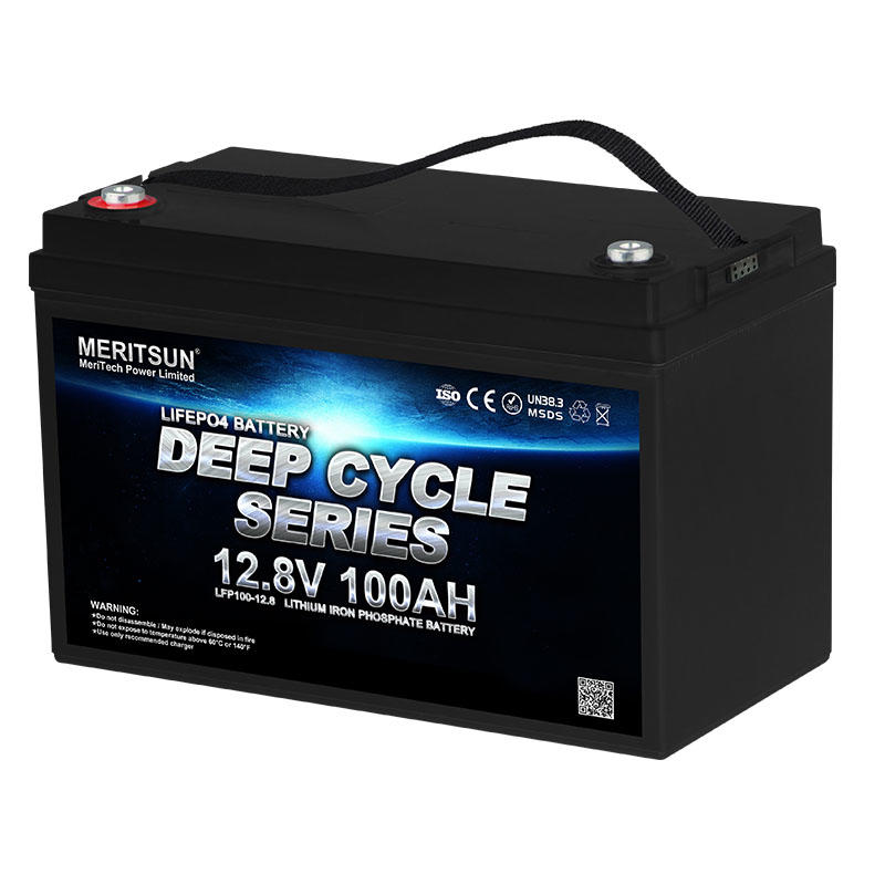 MeritSun Li-ion Lithium Batteries Pack battery lithium 12v 100ah 200ah for Solar system