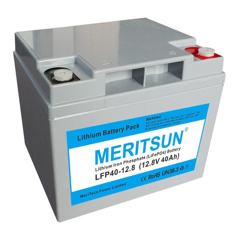 12v 40ah Solar Lithium Iron Phosphate Lifepo4 Battery Pack