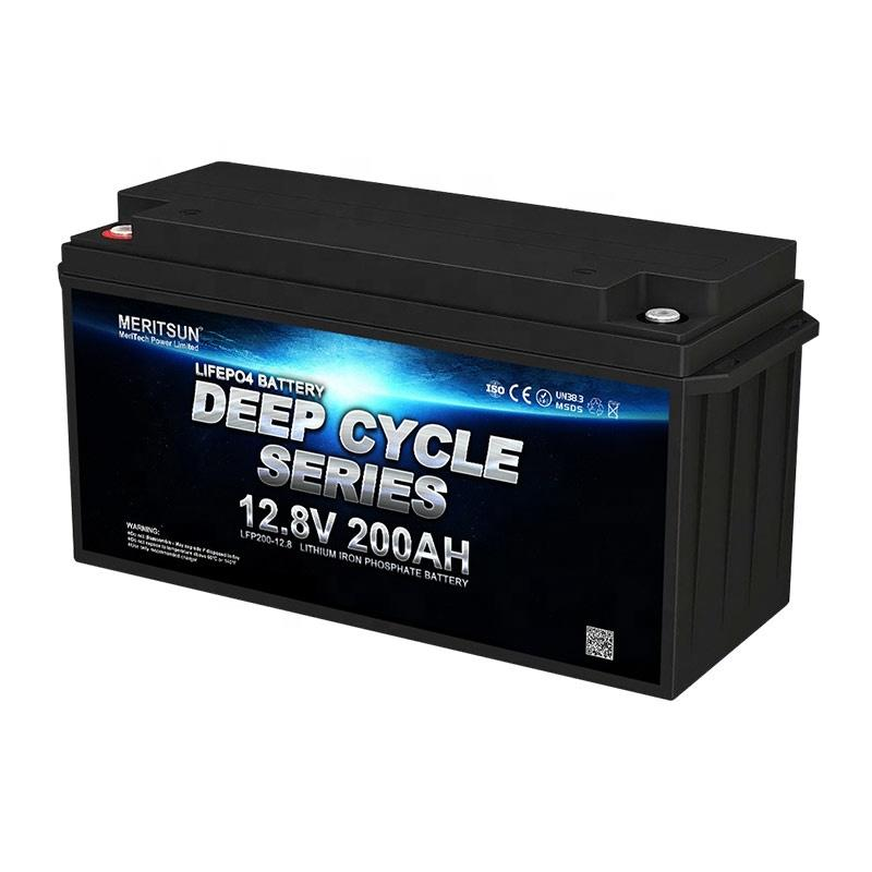 4000 Cycles Long Life Rechargeable 12V Lifepo4 Cell 200Ah Lithium Iron Phosphate Battery For Energy Storage