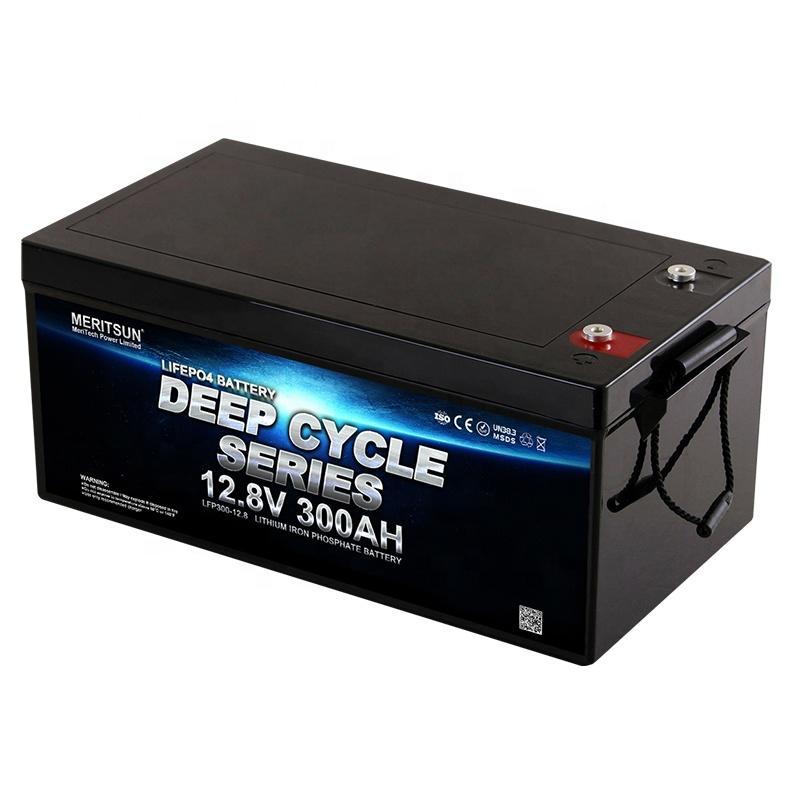 MeritSun LiFePO4 12.8V 250AH 300AH lithium batteries lithium ion battery 12v 300ah