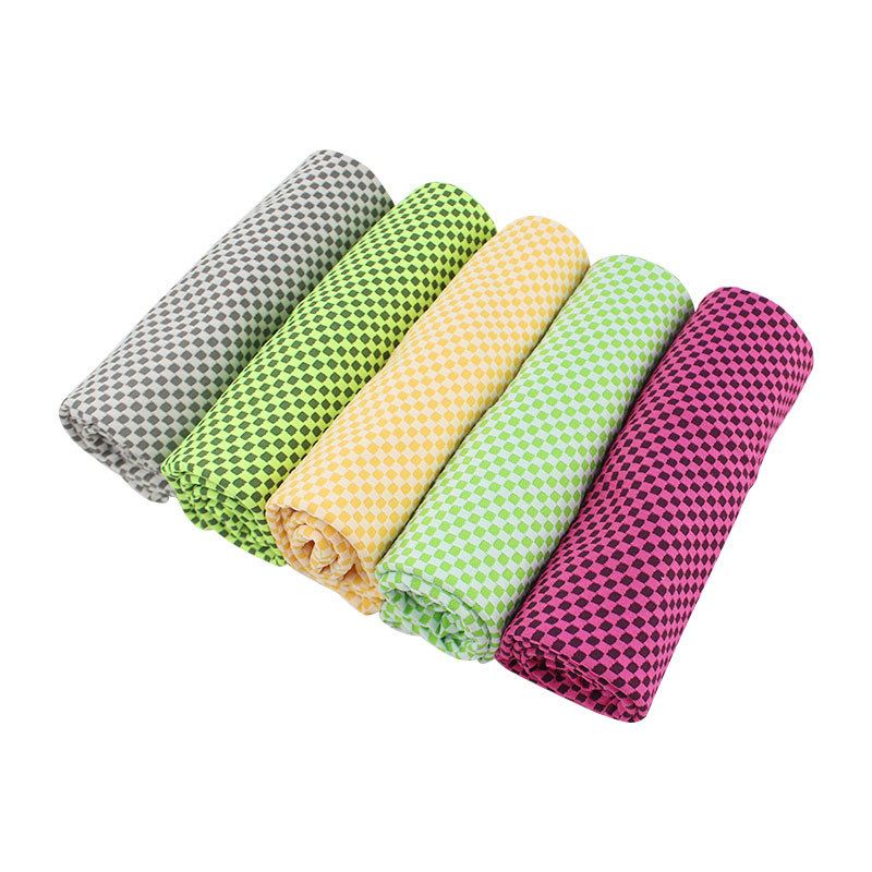 Healthy Sports 100% Polyester Custom printed Cooler Towel