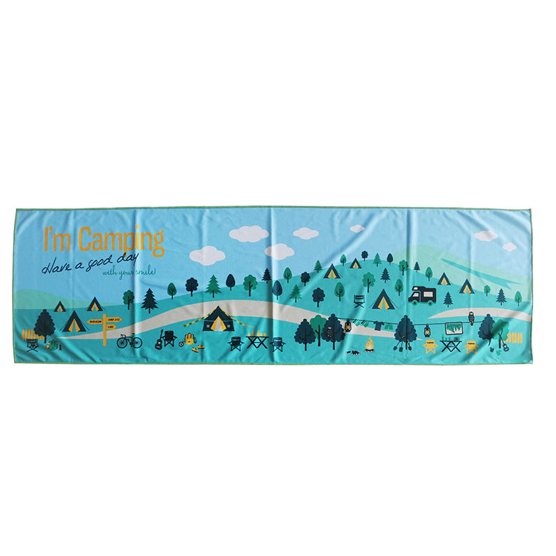 High quality custom printed instant cool towel