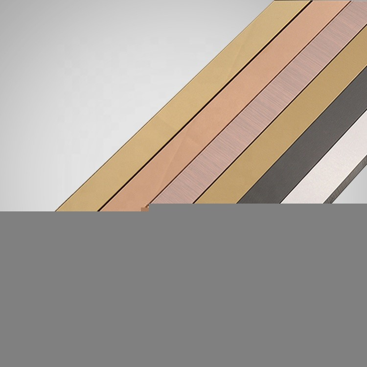 stainless steel polishing stain decorative colorU- channel tile trim for wall decoration