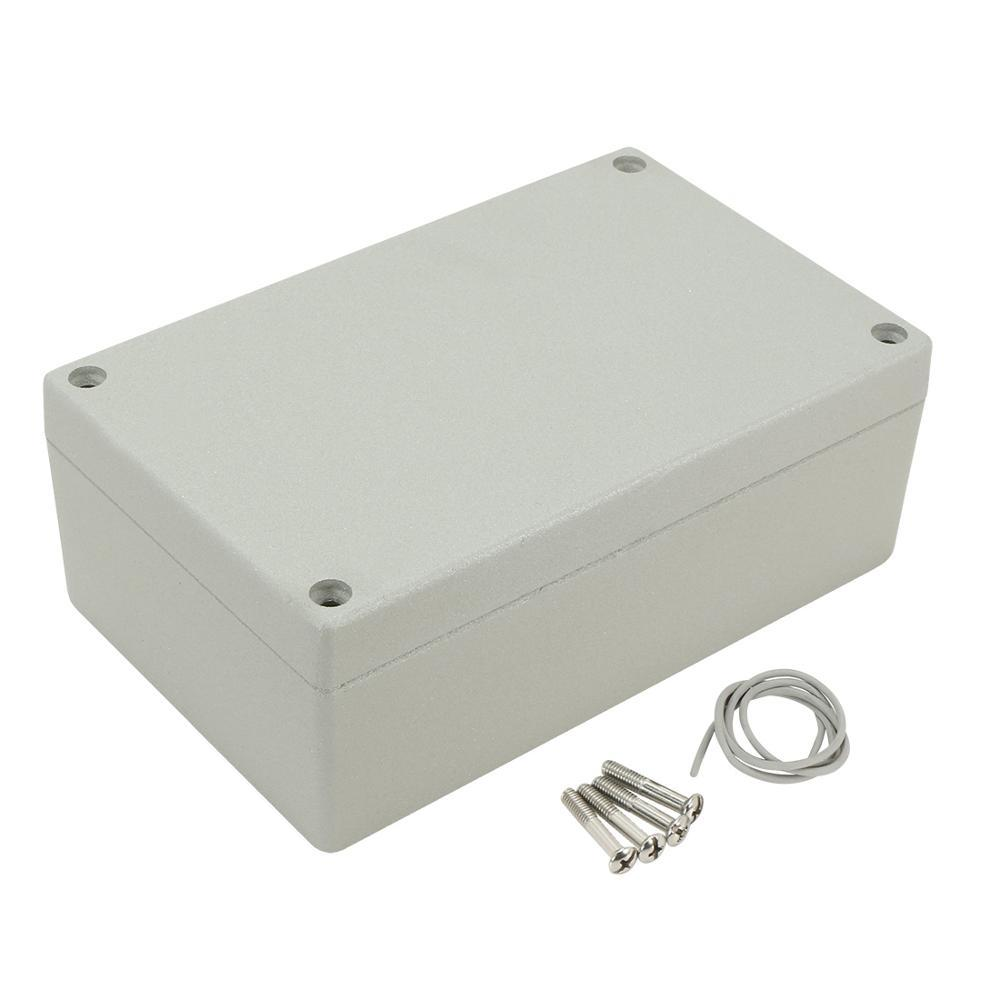 Top Aluminum Alloy Part Anodizing Weatherproof Box with Three 1/2 in. Outlets in White