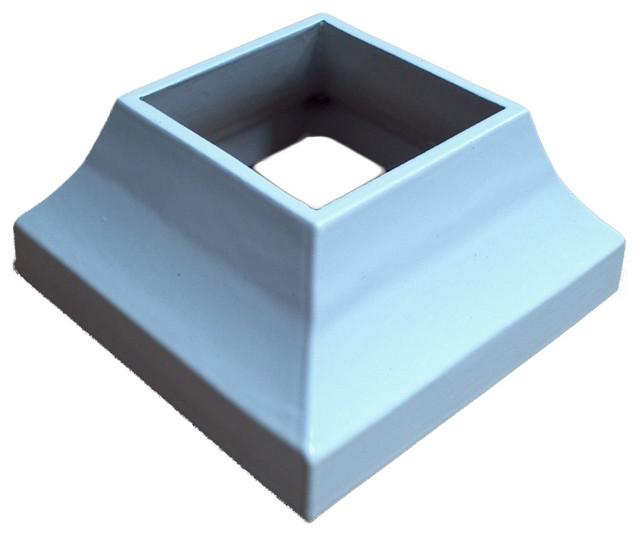 Aluminum guardraildie cast roundplate cover