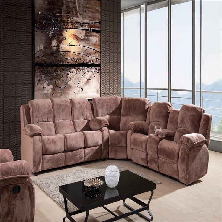 2019 luxury fabric corner sofa living room sofa with sofa bed