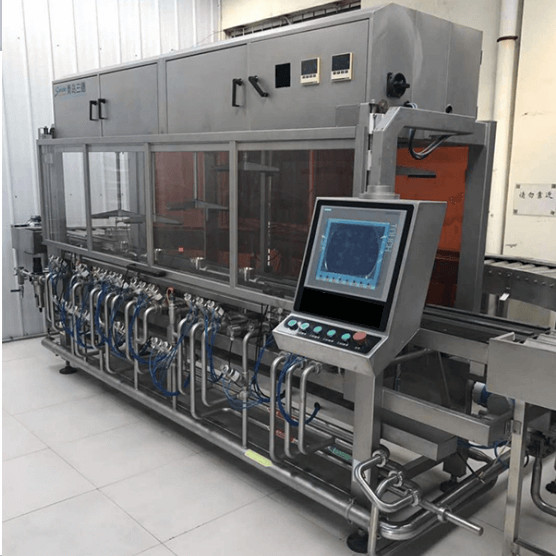 industrial automatic sanitizing beer keg washer and keg filling machine