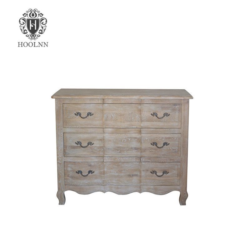 French Provincial Buffet and hutch oak sideboard W5920