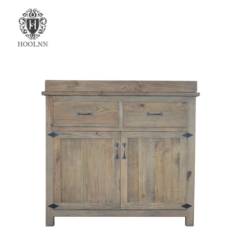 French vintage wooden sideboard HL386