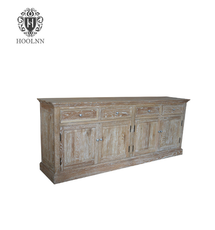 SG309 Provincial buffet and hutch hand carved antique oak sideboard dining room furniture