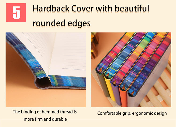 product-Dezheng-2021 New arrivals elegant high quality pu soft cover notebooksleather school student-1