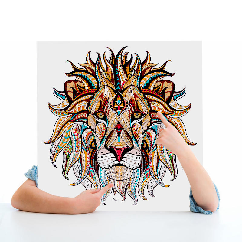Custom Big giant adult drawering paper cartoon colouring poster,coloring poster set for kids