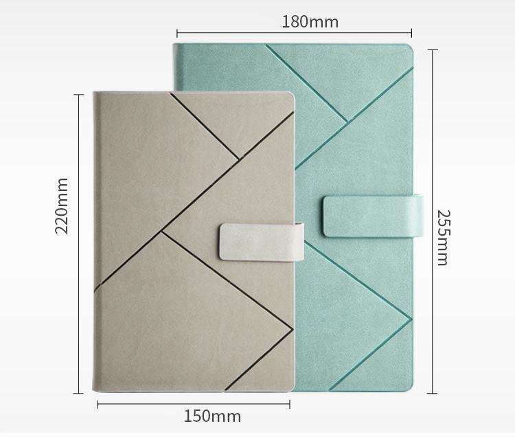 product-Dezheng-Custom 2021 Journal Planner Notebook Hardcover Business Notebook with Pen Holder-img-1