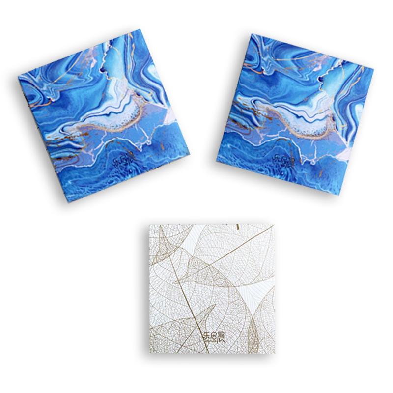 Custom mini 100x100 Watercolor Sketch book Hardcover Painting SketchBook Wholesale Blank Notebook for Drawing