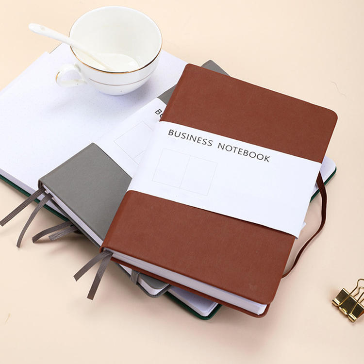 2021 Wholesale Custom Printed Leather Journals 2022 Pu Hardcover Private Label Journal Printing Notebook Planner