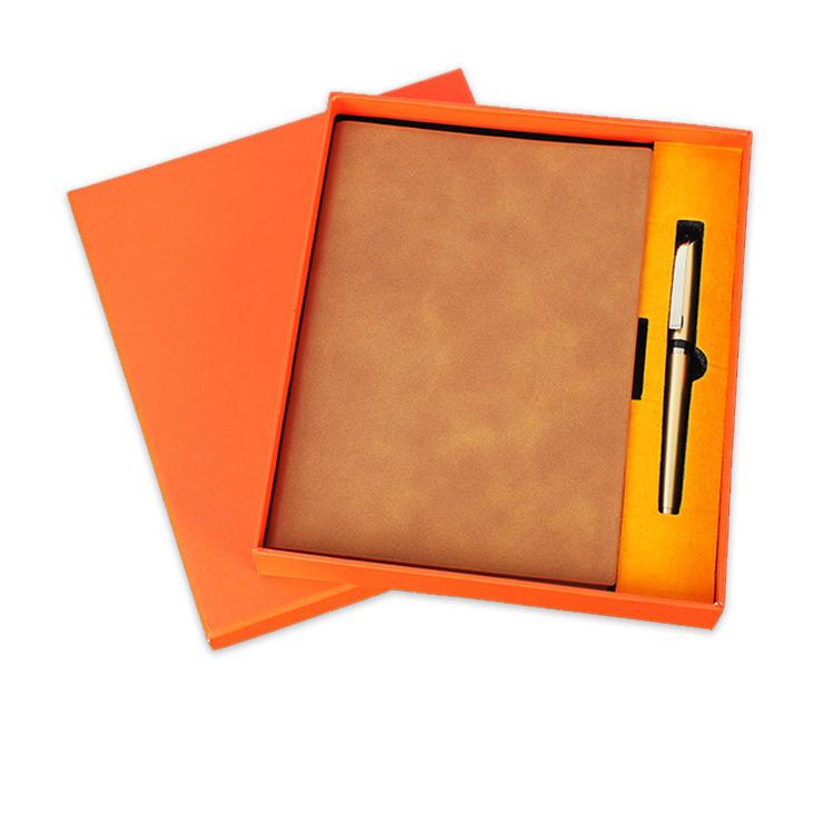Customize School Supplies Dot Grid A5 Notebook Custom Logo Print Mini Pocket Faux Leather Refillable Travel Notebooks Journal