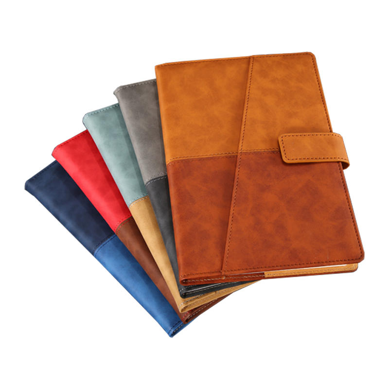 product-Dezheng-2021 New arrivals high quality PU leather planner notebook with bookmark-img-1