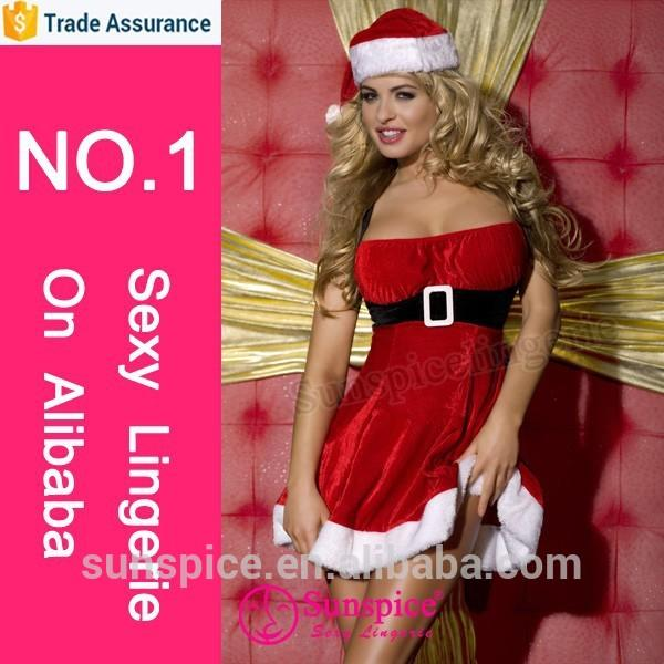 Sunspice hot sale lingerie manufacture christmas masquerade costume