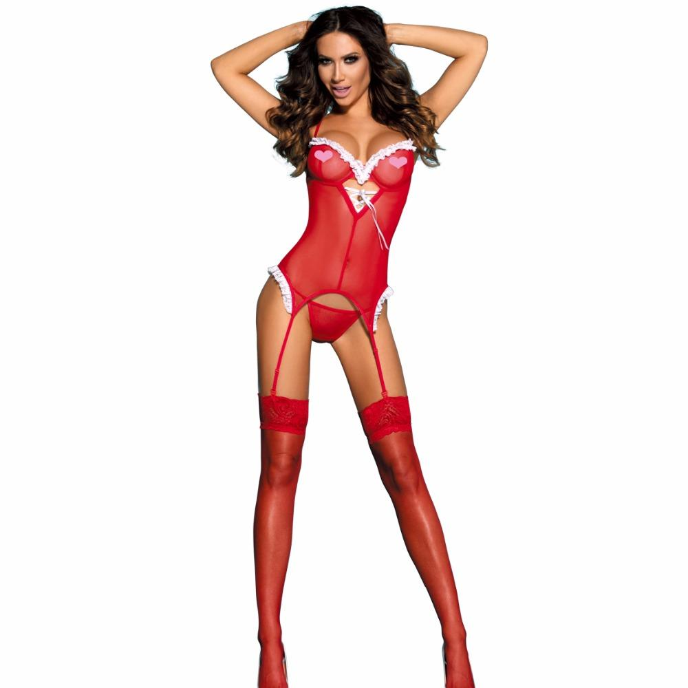 fast shipping wholesale popular adult christmas gift sexy christmas lingerie pattern christmas adult costumes