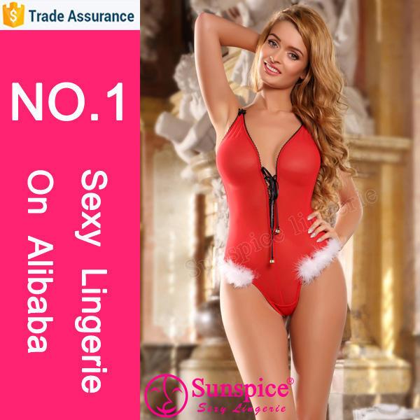 top supplier wholesale sexy christmas lingerie santa claus costume