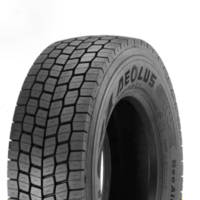 Aeolus winter truck tires 295/60R22.5 295/80R22.5 315/60R22.5 315/70R22.5 315/80R22.5 Driving wheel pattern with M+S and 3PMSF