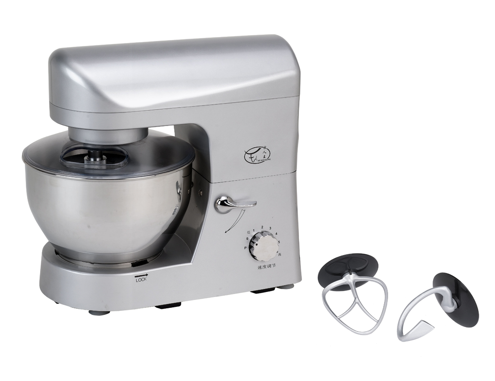 1200W powerful electric mini kitchen food mixer with full metal gear system