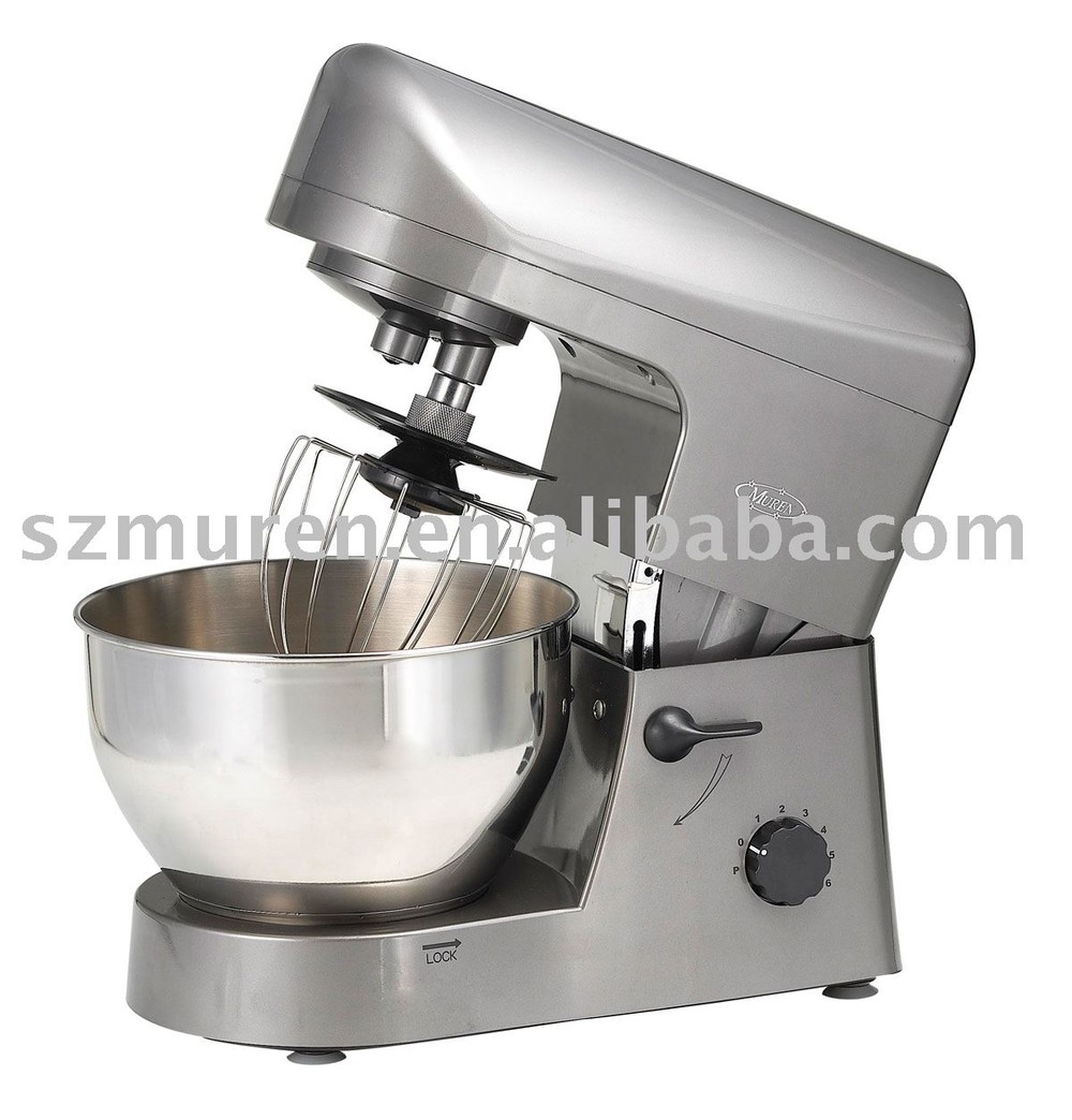 stainless steel stand mixer