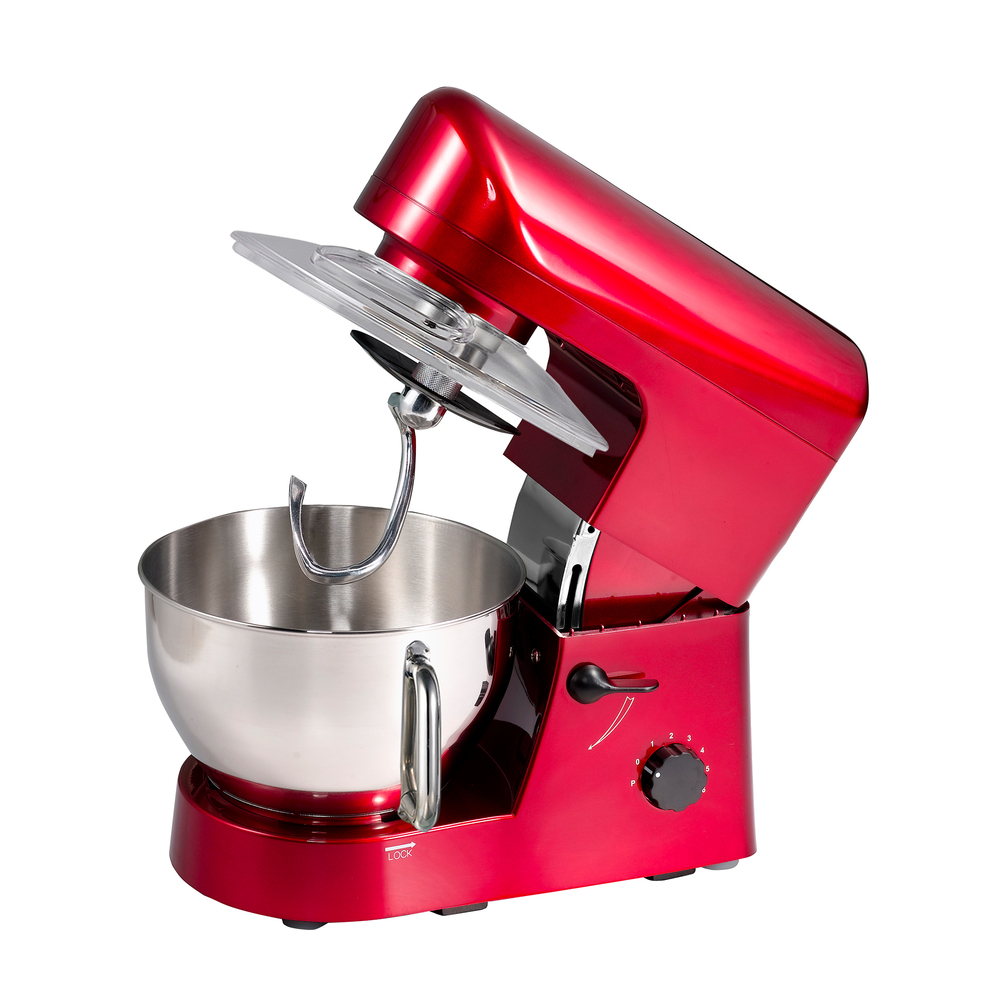 5L1200W kitchen appliances stand mixer with full metal gear system