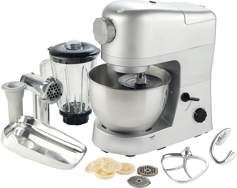 Planetary large stand food mixer