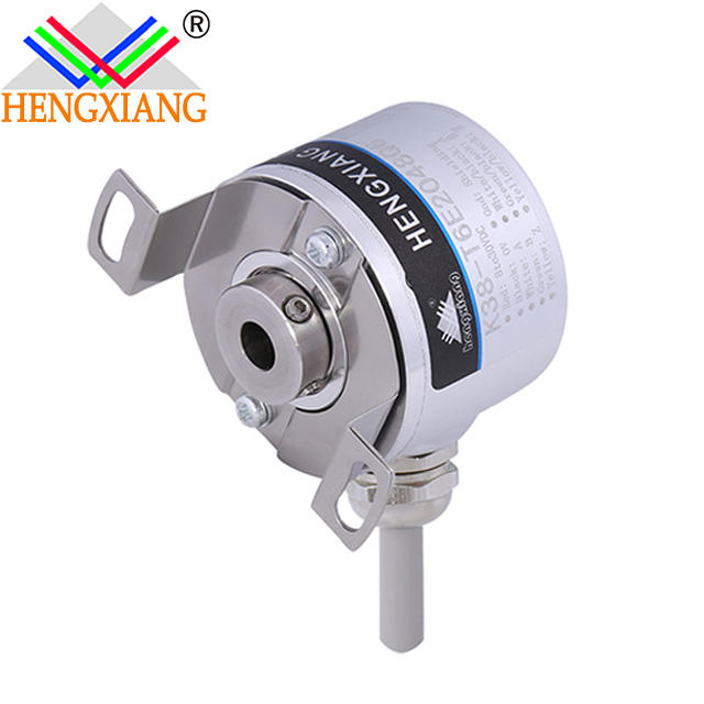 K38 hollow shaft 6mm/8mm /6.35mm 16384ppr magnetic shock sensor HESrotary encoder escalator encoder