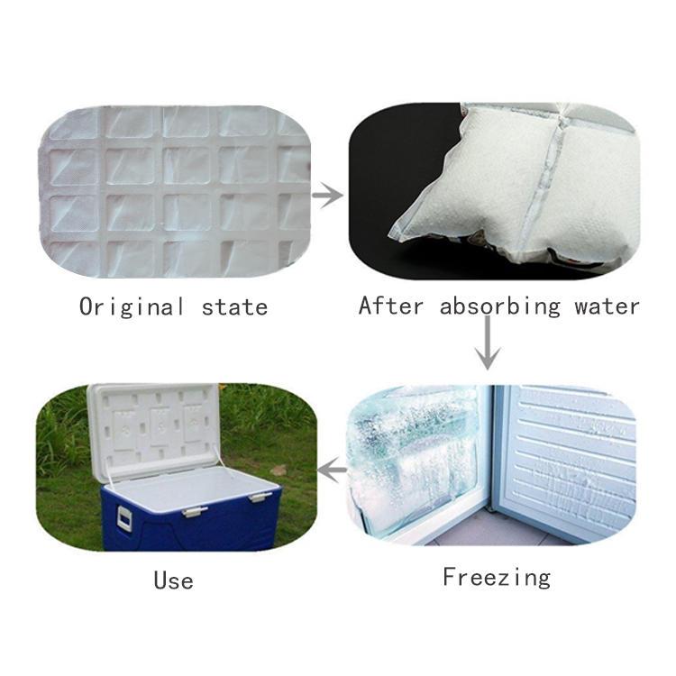 Food Grade Dry Ice Pack Bags Storage Freezer Dry Ice Sheet