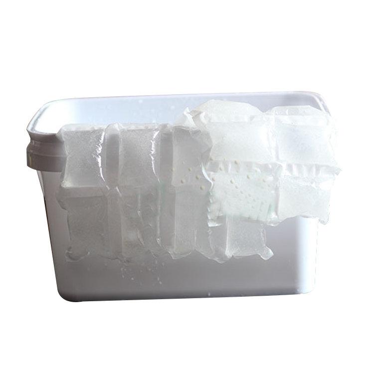 China Manufacturers Food Grade Custom Transparent Refillable Ice Pack