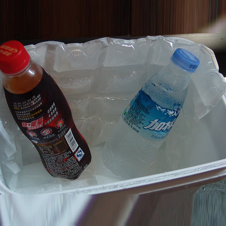 Factory supply SGS disposable cooler bag cool ice pack