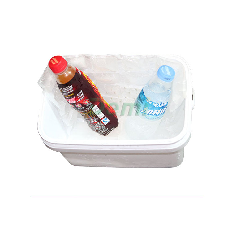 SAP material food use mini techni ice dry ice pack,reusable ice pack