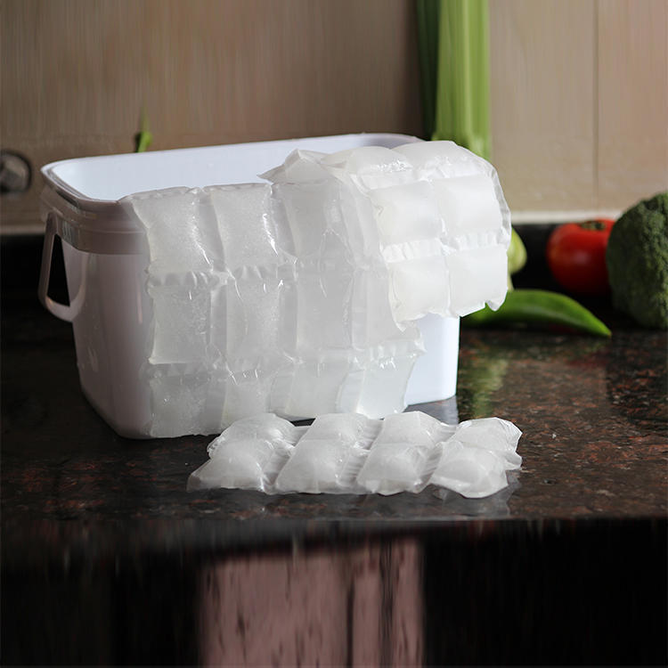 Reusable Ice Bags For Food Storage Ice Gel Food Cooling Shipping Dry Ice Gel Packs