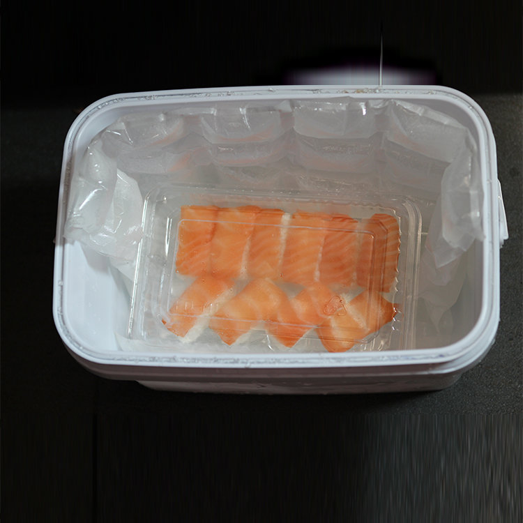US FDA Approved Non-woven Fill Water Freeze Gel Ice Packs for Keeping Sea Food Storage Fresh in Transport