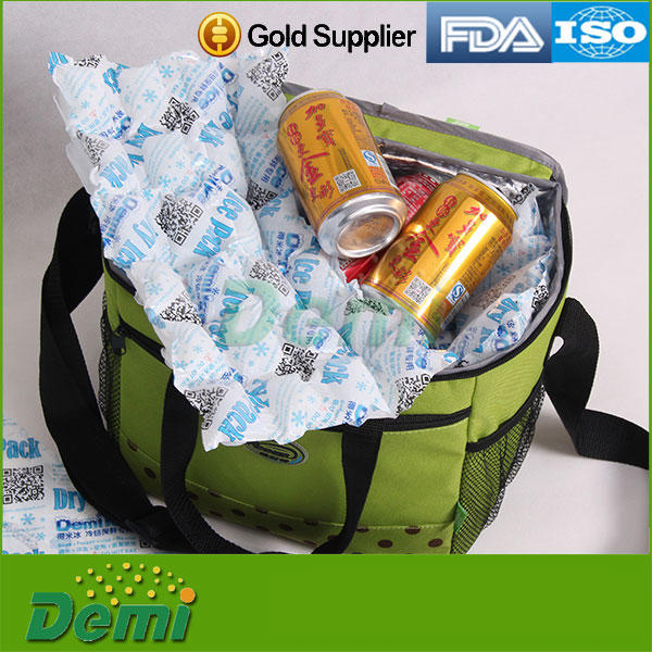Food Grade Dry Ice Packs Cooler Bag Ice Boxes Reusable For Cold Fresh Food Shipping Gel Ice Pack