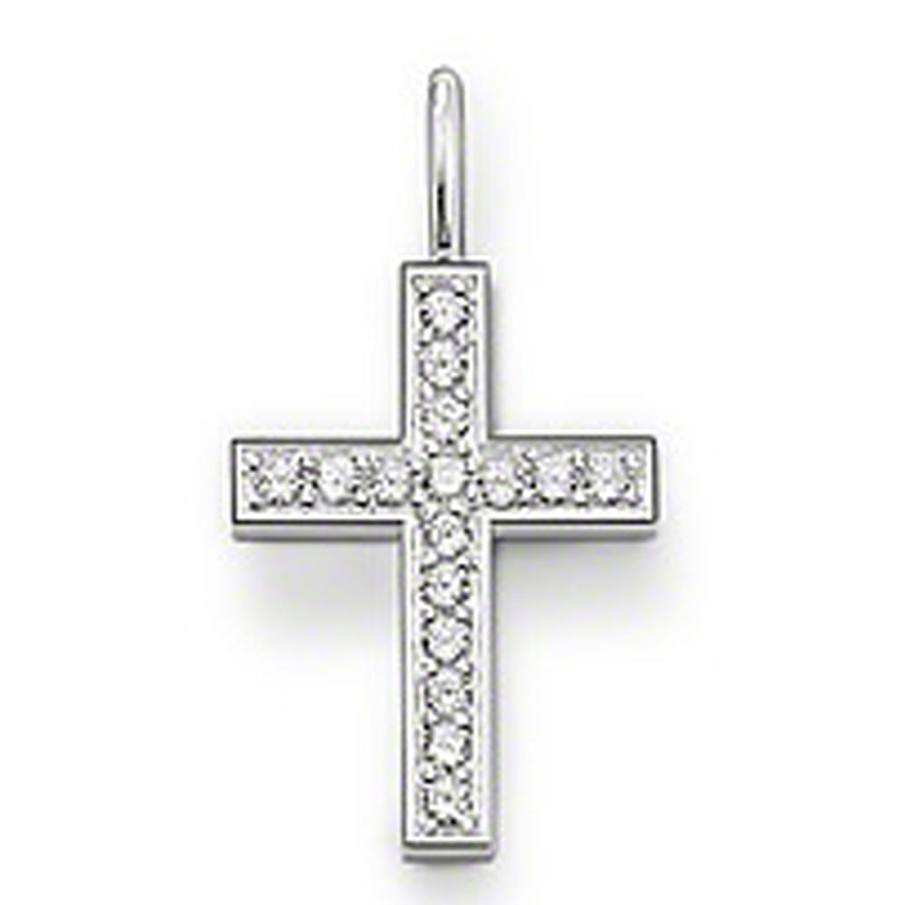 Costume jewelry cross design material to make necklaces