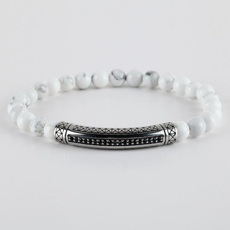 Braided Design Chic Elastic Rosary Bracelet, Tiger's Eye Stone Bracelet