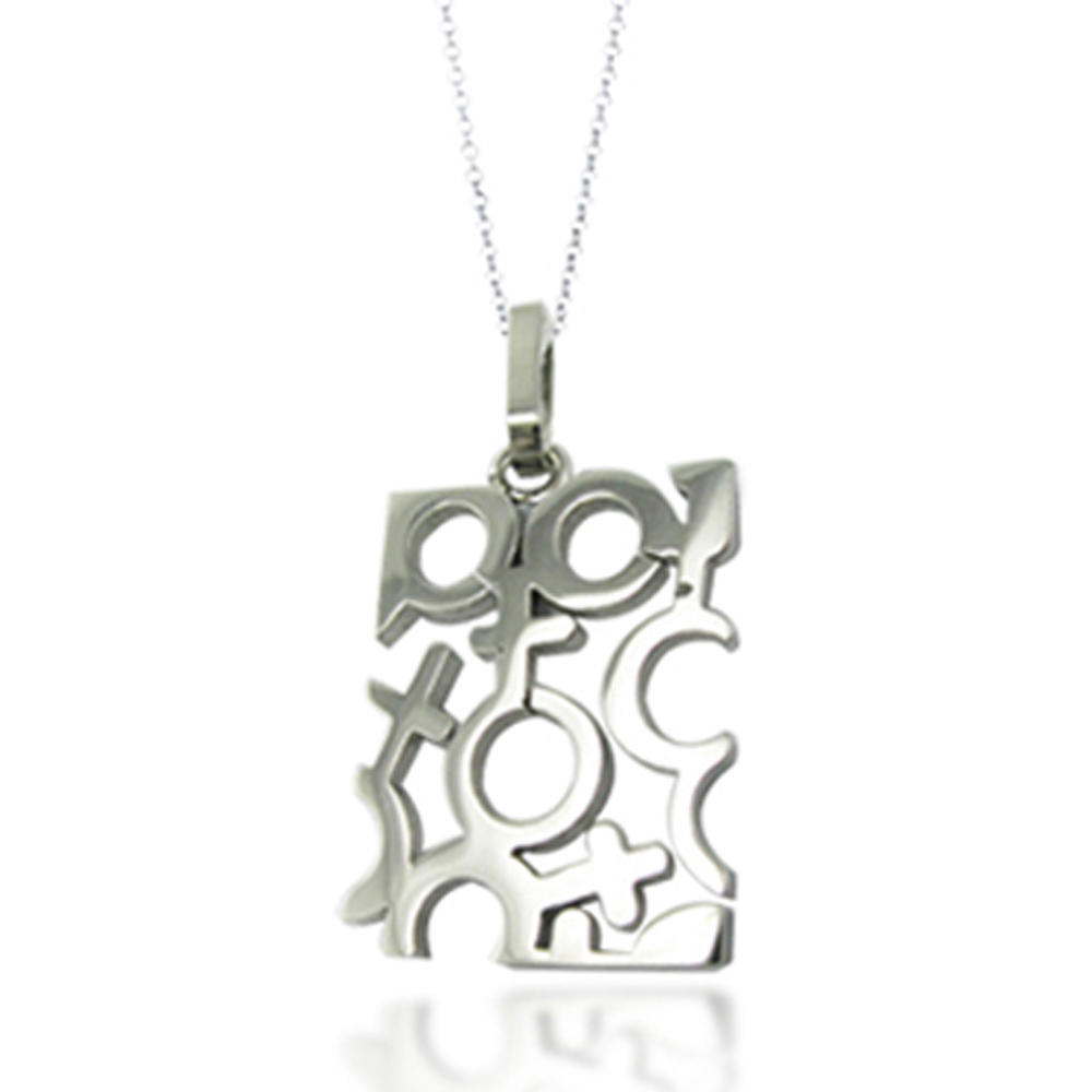 Mystic Love Abstract Design My Style Fashion Jewelry