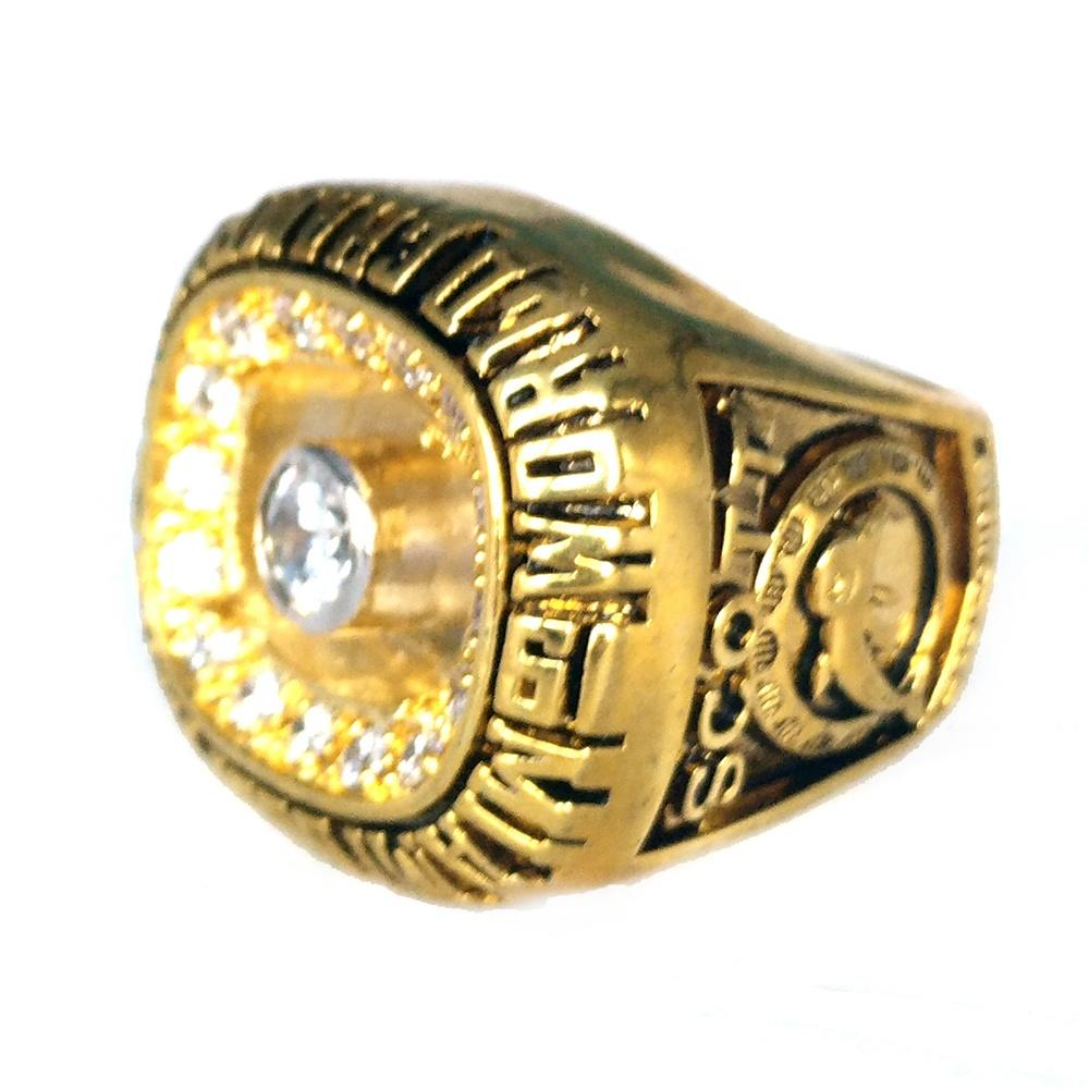 Blue Enamel Miami Wholesale Championship Replica Rings