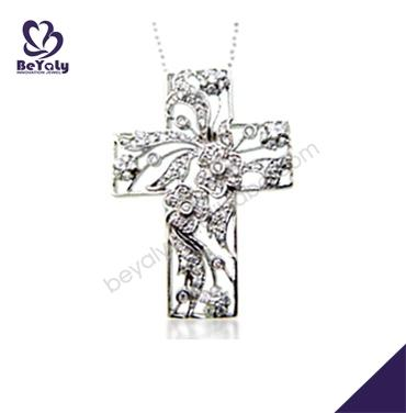 Boutique cross design 925 silver jewelry, sterling silver jewelry sets