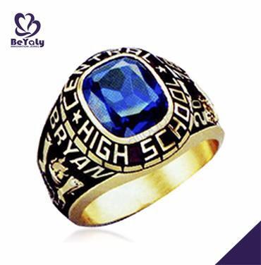 High school student tanzanite genuine gemstone ring