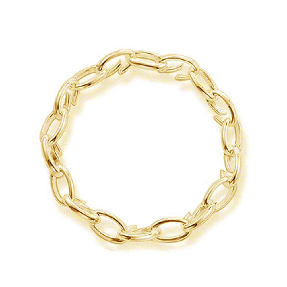 Simple design motorcycle gold hand chain bracelet for men