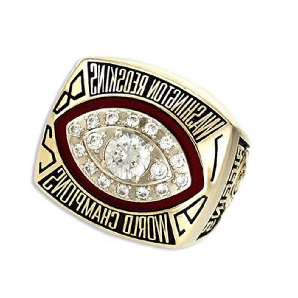 Washington Redskins 1982 World Champions gold rings