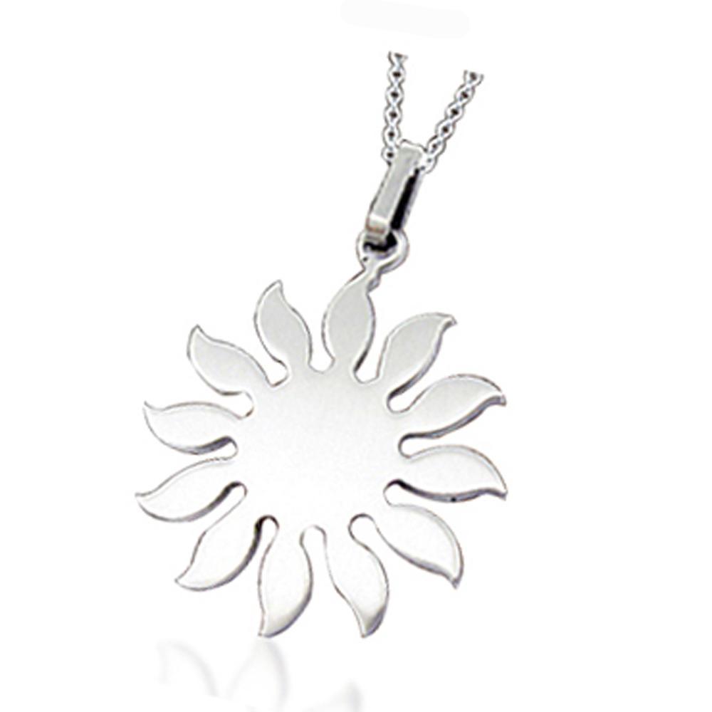 Custom Design Sun Silver Quantum Pendant In Pakistan