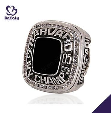 Well received 2005 Harvard Ivy Champs silver gift rings