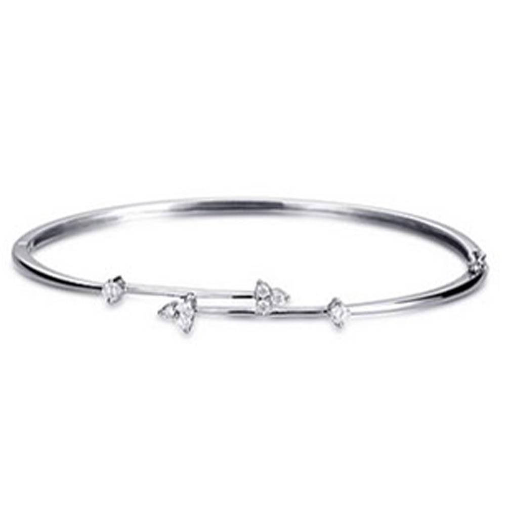 Graceful skull shape design 925 sterling silver upper arm bracelet