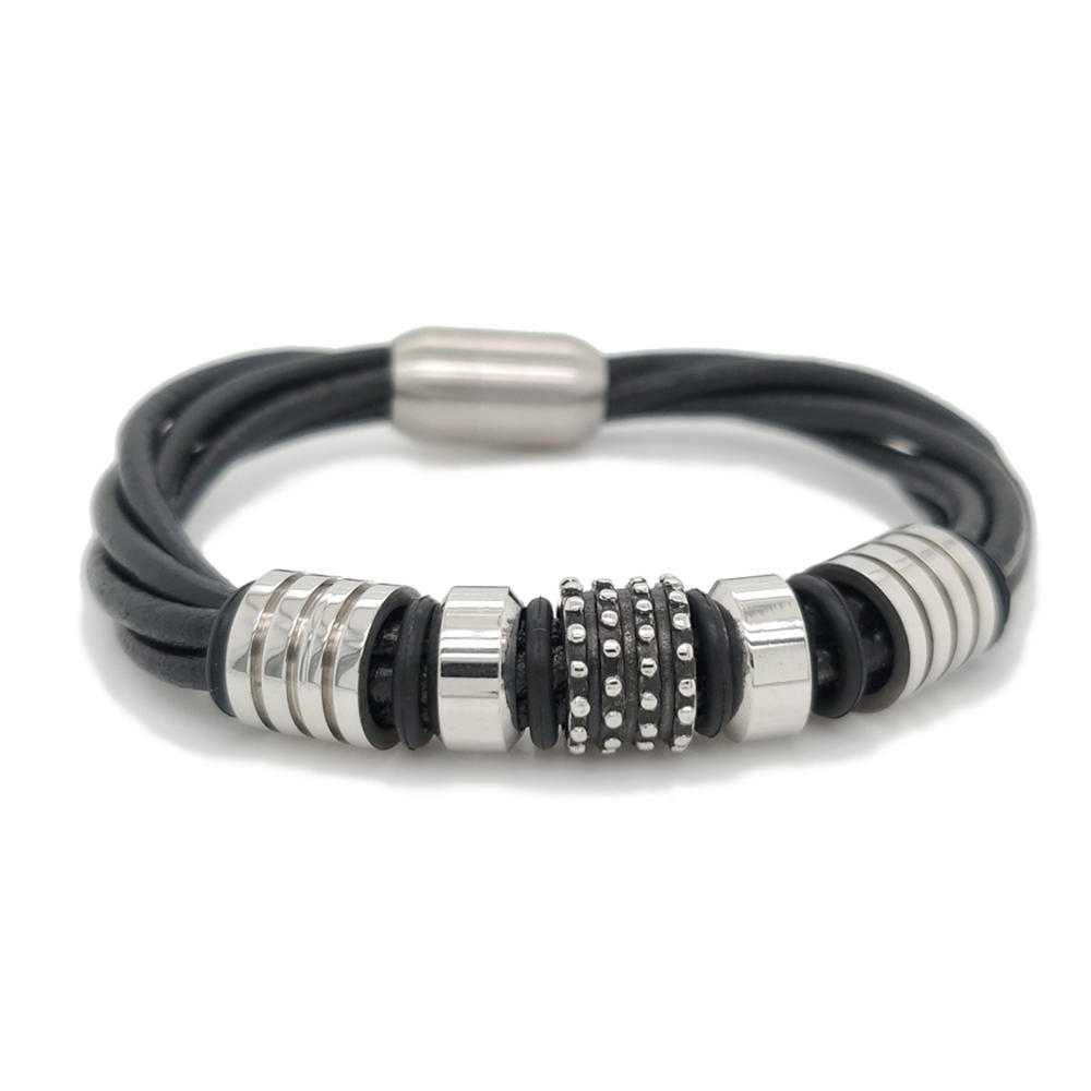 Hot Recommend Black Leather Design Yoga Jewelry Wholesale