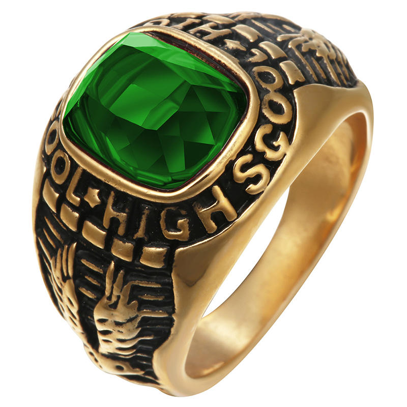Costume School Ring / Class Ring / College Ring Jewelry
